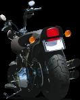 moto vue de dos